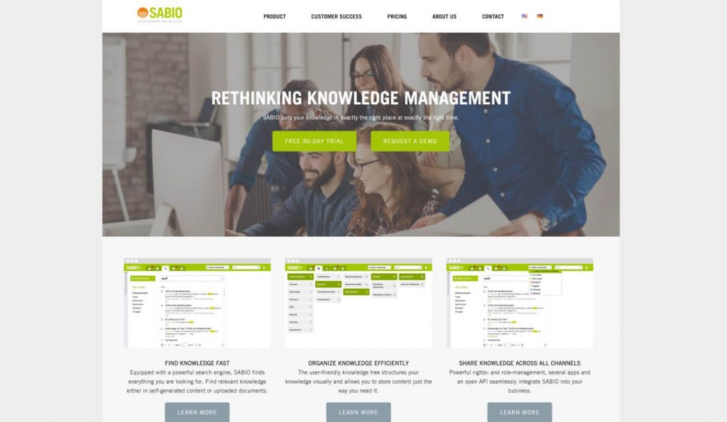 Sabio Knowledge Management Software_01